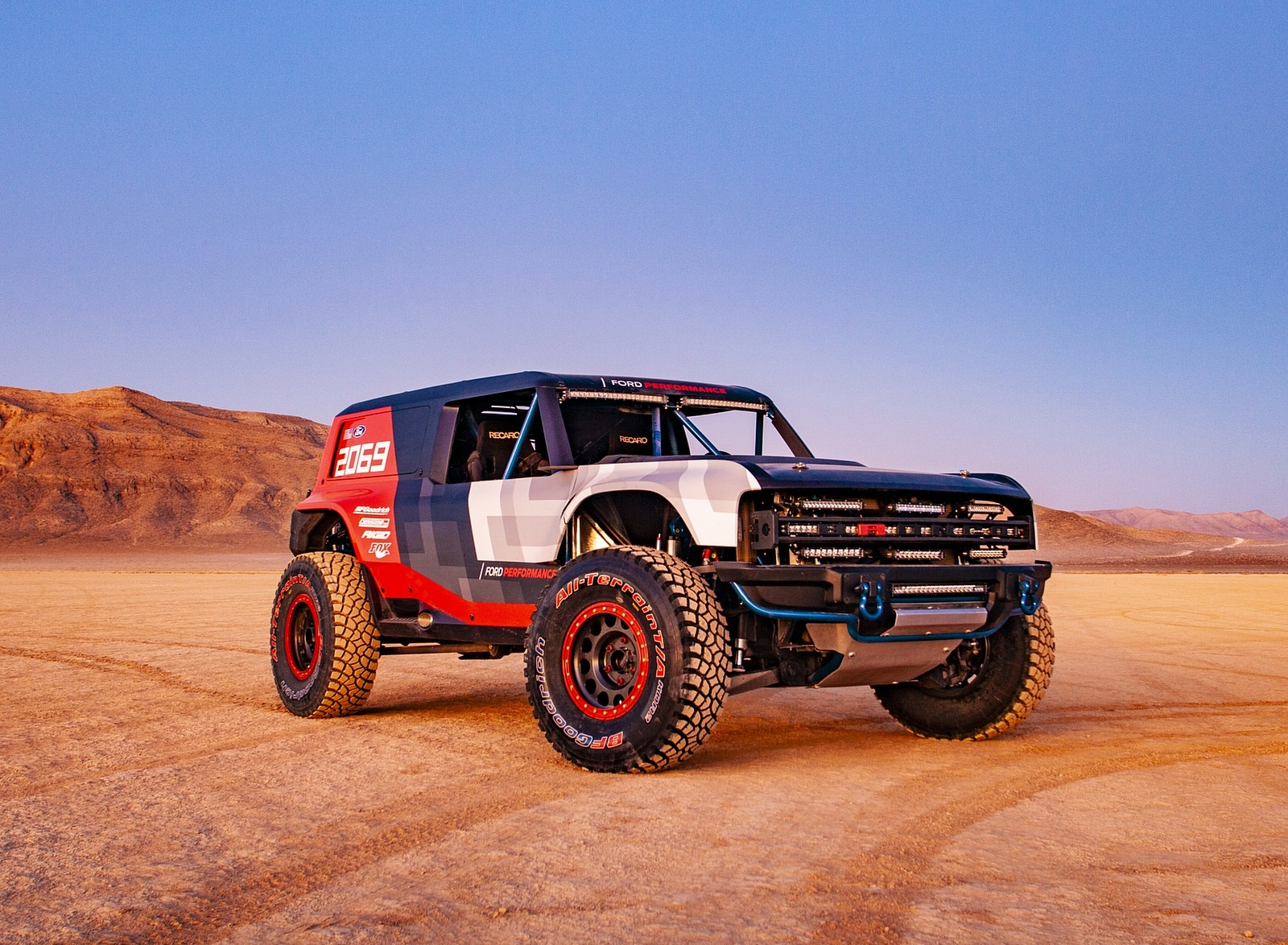 2019 Ford Bronco R Concept Front Three-Quarter Wallpapers (6)