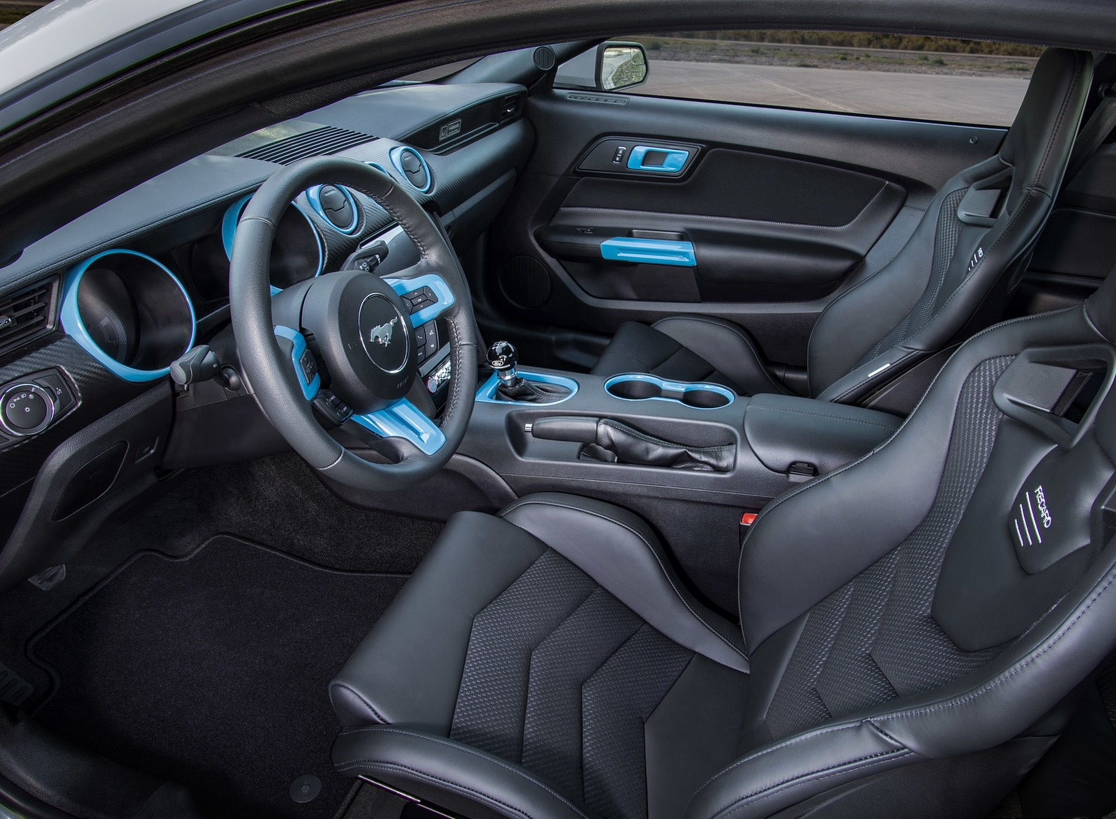 2019 Ford Mustang Lithium Concept Interior Seats Wallpapers (7)