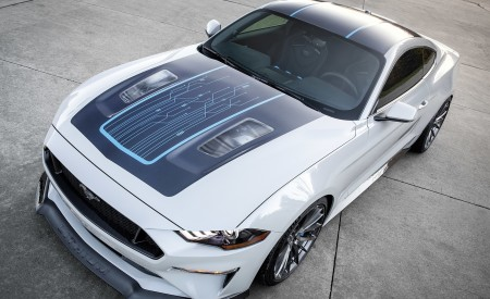2019 Ford Mustang Lithium Concept Wallpapers HD