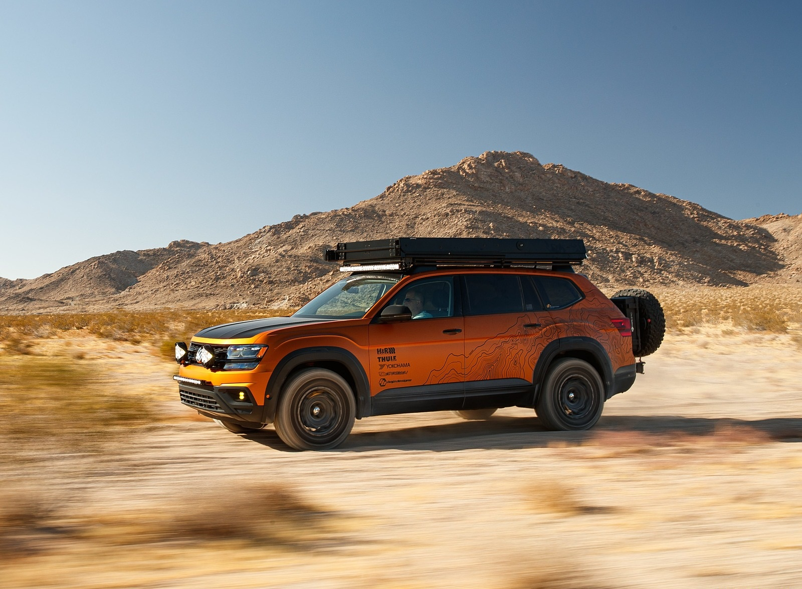 2019 Volkswagen Atlas Adventure Concept Front Three-Quarter Wallpapers (6)