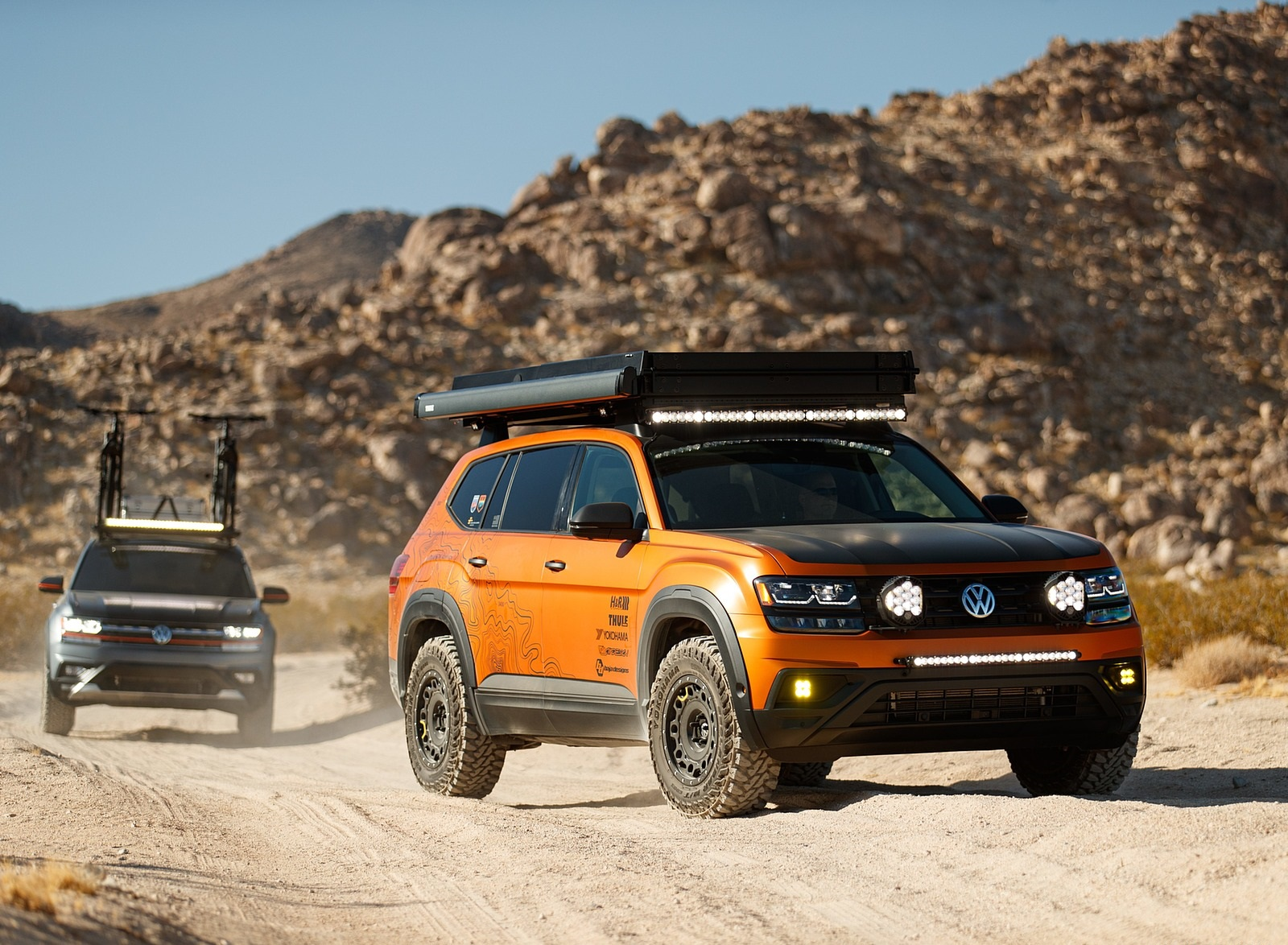 2019 Volkswagen Atlas Adventure Concept and Atlas Basecamp Concept Wallpapers (1)