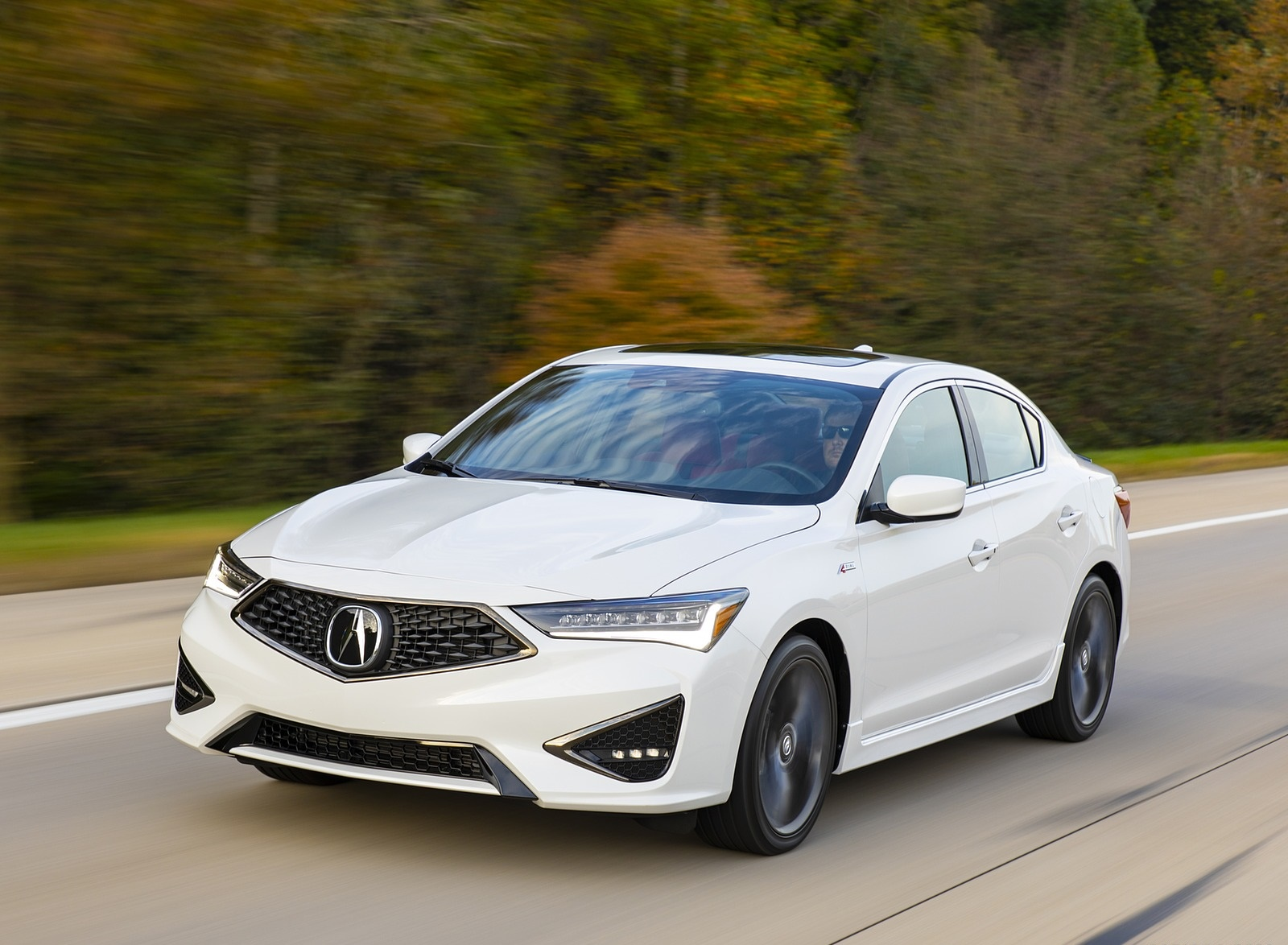 2020 Acura ILX A-Spec Front Three-Quarter Wallpapers (3)
