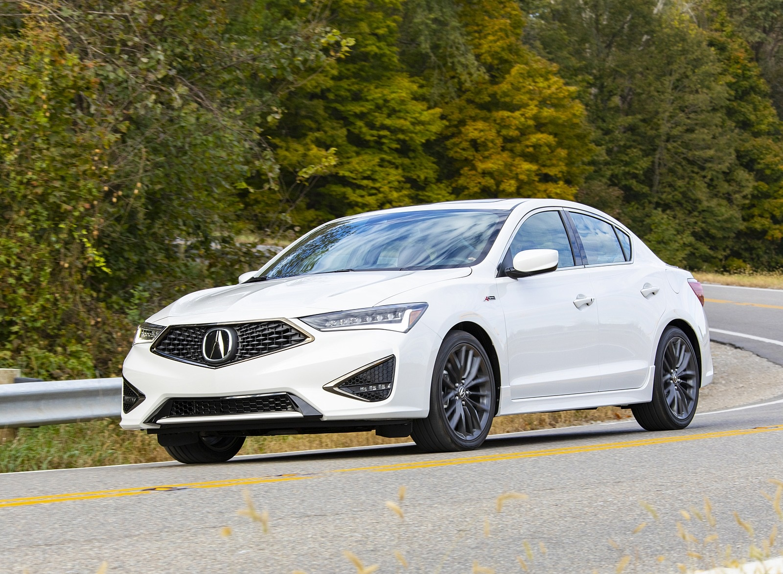 2020 Acura ILX A-Spec Front Three-Quarter Wallpapers (5)