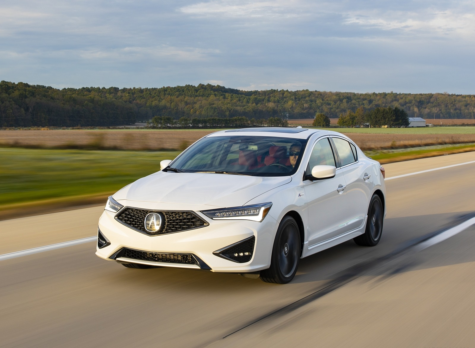 2020 Acura ILX A-Spec Front Wallpapers (1)