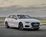 2020 Audi A4 Avant g-tron (Color: Glacier White) Front Three-Quarter Wallpapers 150x120 (1)