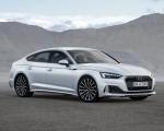 2020 Audi A5 Sportback g-tron (Color: Glacier White) Front Three-Quarter Wallpapers 150x120 (3)