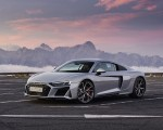 2020 Audi R8 V10 RWD Coupe (Color: Florett Silver) Front Three-Quarter Wallpapers 150x120 (19)