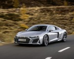2020 Audi R8 V10 RWD Coupe (Color: Florett Silver) Front Three-Quarter Wallpapers 150x120 (3)
