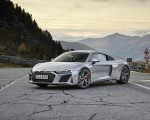2020 Audi R8 V10 RWD Coupe (Color: Florett Silver) Front Three-Quarter Wallpapers 150x120 (18)