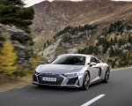 2020 Audi R8 V10 RWD Coupe (Color: Florett Silver) Front Three-Quarter Wallpapers 150x120 (4)
