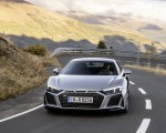 2020 Audi R8 V10 RWD Coupe (Color: Florett Silver) Front Wallpapers 150x120 (2)