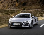 2020 Audi R8 V10 RWD Coupe (Color: Florett Silver) Front Wallpapers 150x120 (5)