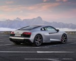 2020 Audi R8 V10 RWD Coupe (Color: Florett Silver) Rear Three-Quarter Wallpapers 150x120