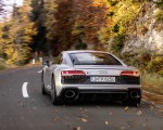 2020 Audi R8 V10 RWD Coupe (Color: Florett Silver) Rear Wallpapers 150x120 (9)