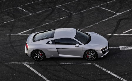 2020 Audi R8 V10 RWD Coupe (Color: Florett Silver) Top Wallpapers 450x275 (13)