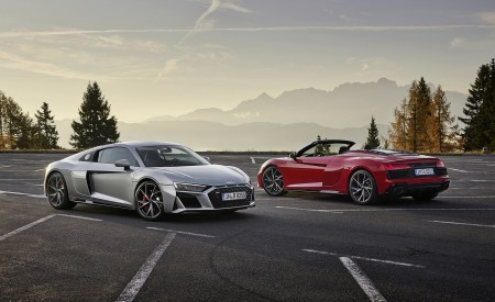 2020 Audi R8 V10 RWD Coupe and Spyder Wallpapers 450x275 (11)