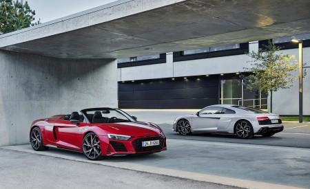2020 Audi R8 V10 RWD Coupe and Spyder Wallpapers 450x275 (10)