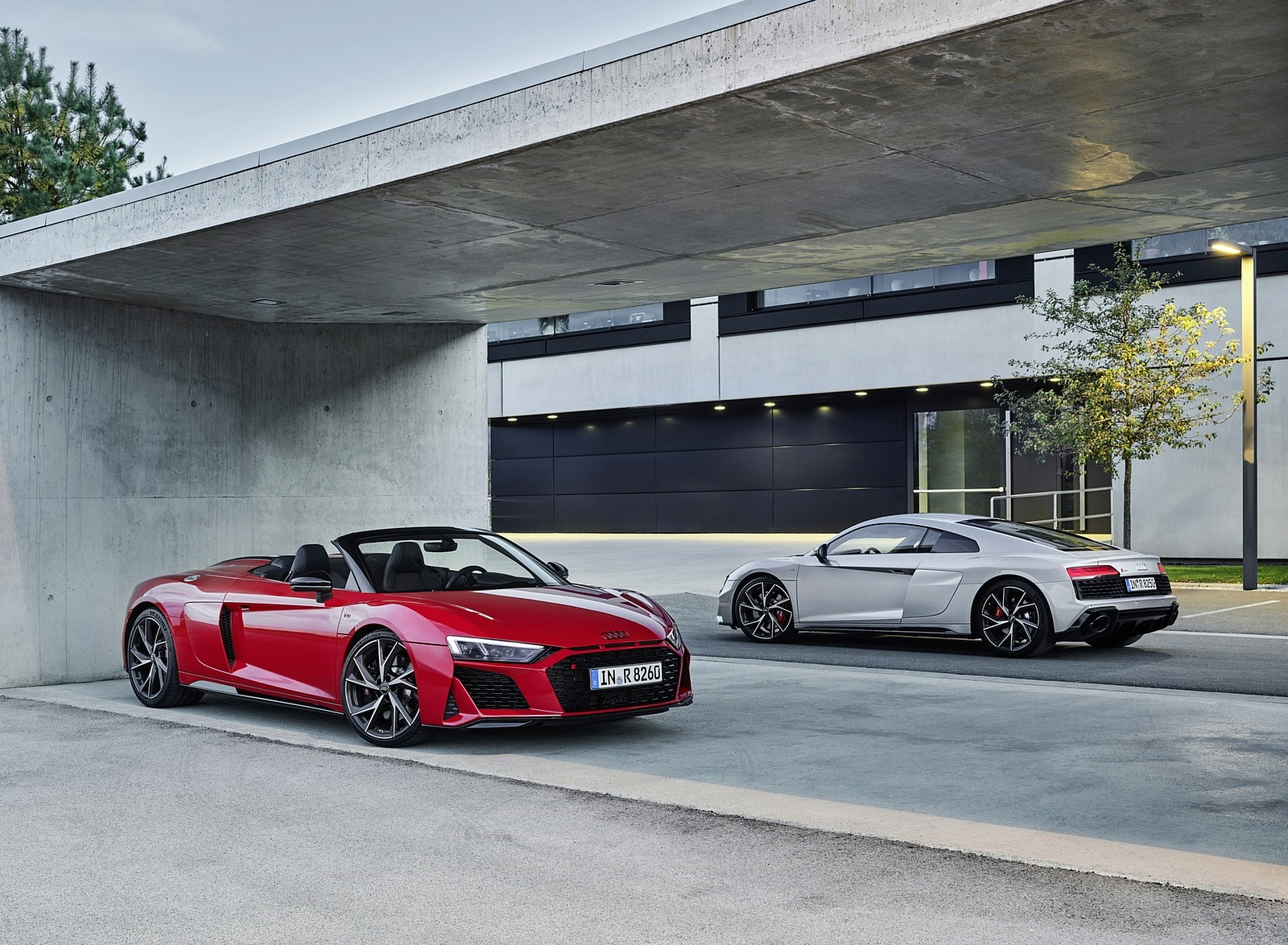 2020 Audi R8 V10 RWD Coupe and Spyder Wallpapers (10)