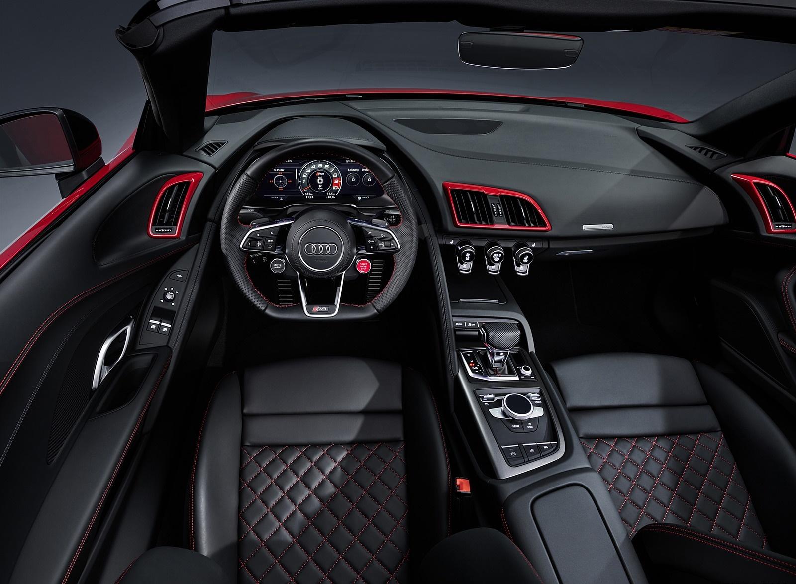 2020 Audi R8 V10 Rwd Interior Cockpit Wallpapers 31 Newcarcars