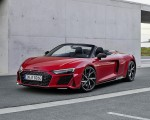2020 Audi R8 V10 RWD Spyder (Color: Tango Red) Front Three-Quarter Wallpapers 150x120 (14)
