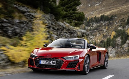 2020 Audi R8 V10 RWD Spyder Wallpapers HD