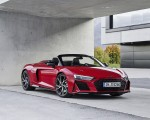 2020 Audi R8 V10 RWD Spyder (Color: Tango Red) Front Three-Quarter Wallpapers 150x120 (15)