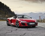 2020 Audi R8 V10 RWD Spyder (Color: Tango Red) Front Three-Quarter Wallpapers 150x120 (10)