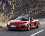 2020 Audi R8 V10 RWD Spyder (Color: Tango Red) Front Three-Quarter Wallpapers 150x120 (2)