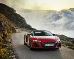 2020 Audi R8 V10 RWD Spyder (Color: Tango Red) Front Wallpapers 150x120 (7)