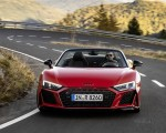 2020 Audi R8 V10 RWD Spyder (Color: Tango Red) Front Wallpapers 150x120 (3)