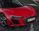 2020 Audi R8 V10 RWD Spyder (Color: Tango Red) Headlight Wallpapers 150x120 (23)