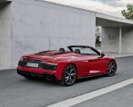 2020 Audi R8 V10 RWD Spyder (Color: Tango Red) Rear Three-Quarter Wallpapers 150x120 (16)