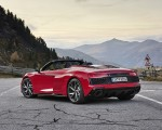 2020 Audi R8 V10 RWD Spyder (Color: Tango Red) Rear Three-Quarter Wallpapers 150x120 (12)