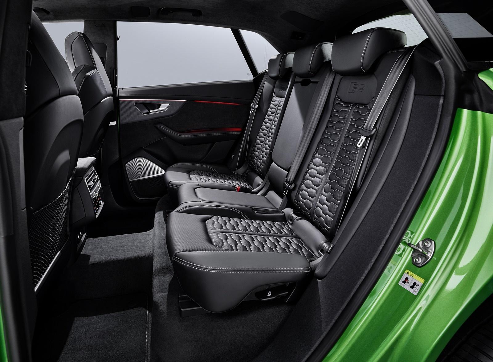 2020 Audi Rs Q8 Interior Rear Seats Wallpapers 192 Newcarcars