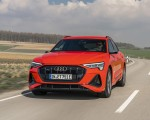 2020 Audi e-tron Sportback (Color: Catalunya Red) Front Wallpapers 150x120 (1)