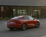2020 Audi e-tron Sportback (Color: Catalunya Red) Rear Three-Quarter Wallpapers 150x120 (10)