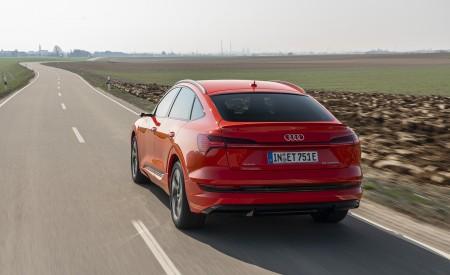 2020 Audi e-tron Sportback (Color: Catalunya Red) Rear Three-Quarter Wallpapers 450x275 (4)