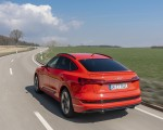 2020 Audi e-tron Sportback (Color: Catalunya Red) Rear Three-Quarter Wallpapers 150x120 (5)