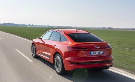 2020 Audi e-tron Sportback (Color: Catalunya Red) Rear Three-Quarter Wallpapers 450x275 (6)
