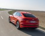 2020 Audi e-tron Sportback (Color: Catalunya Red) Rear Three-Quarter Wallpapers 150x120 (7)