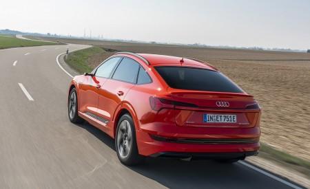 2020 Audi e-tron Sportback (Color: Catalunya Red) Rear Three-Quarter Wallpapers 450x275 (7)