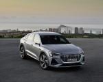 2020 Audi e-tron Sportback (Color: Florett Silver) Front Three-Quarter Wallpapers 150x120 (26)