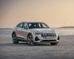 2020 Audi e-tron Sportback (Color: Florett Silver) Front Three-Quarter Wallpapers 150x120 (17)