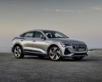 2020 Audi e-tron Sportback (Color: Florett Silver) Front Three-Quarter Wallpapers 150x120 (18)