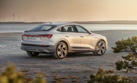 2020 Audi e-tron Sportback (Color: Florett Silver) Rear Three-Quarter Wallpapers 450x275 (71)