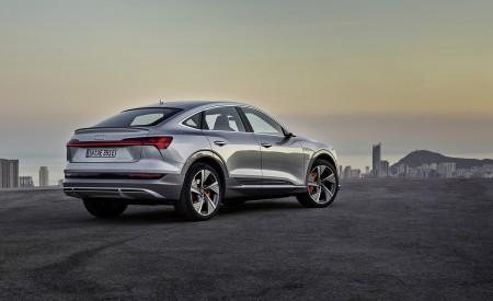 2020 Audi e-tron Sportback (Color: Florett Silver) Rear Three-Quarter Wallpapers 450x275 (73)