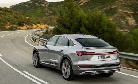 2020 Audi e-tron Sportback (Color: Florett Silver) Rear Wallpapers 450x275 (62)
