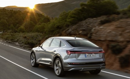 2020 Audi e-tron Sportback (Color: Florett Silver) Rear Wallpapers 450x275 (63)