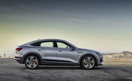 2020 Audi e-tron Sportback (Color: Florett Silver) Side Wallpapers 450x275 (64)