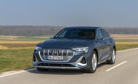2020 Audi e-tron Sportback (Color: Plasma Blue) Front Wallpapers 450x275 (17)